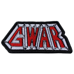 GWAR This Toilet Earth Logo Embroidered Patch