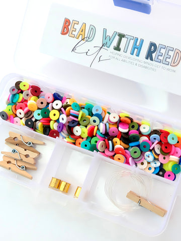 Confetti Bracelet Bead Kit | Makes Three Bracelets