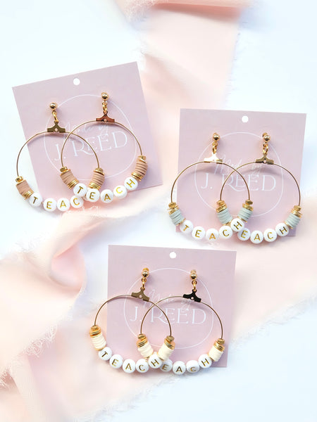 Teach Earrings
