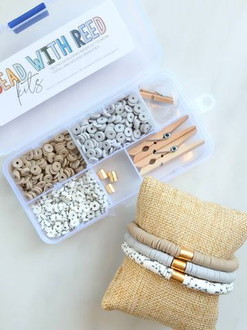 Cozy Neutral Bracelet Bead Kit