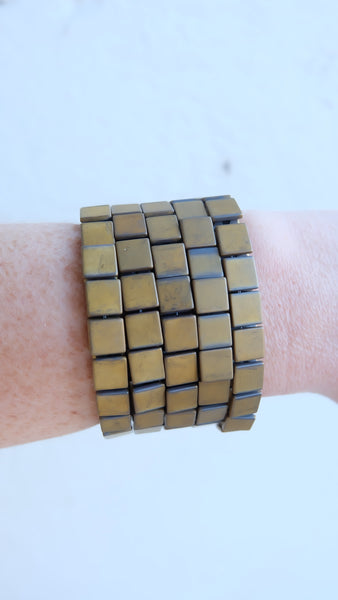 Hip to be Square Bracelet