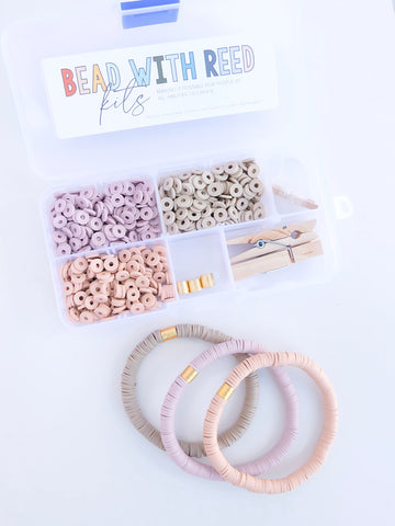 """Lavender Latte"" Bead Kit 