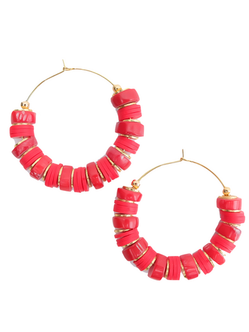 """Hot As Shell"" Earrings"
