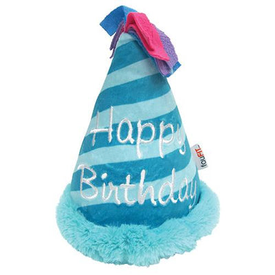 "Birthday Hat Crinkle Plush Toys (6"")"