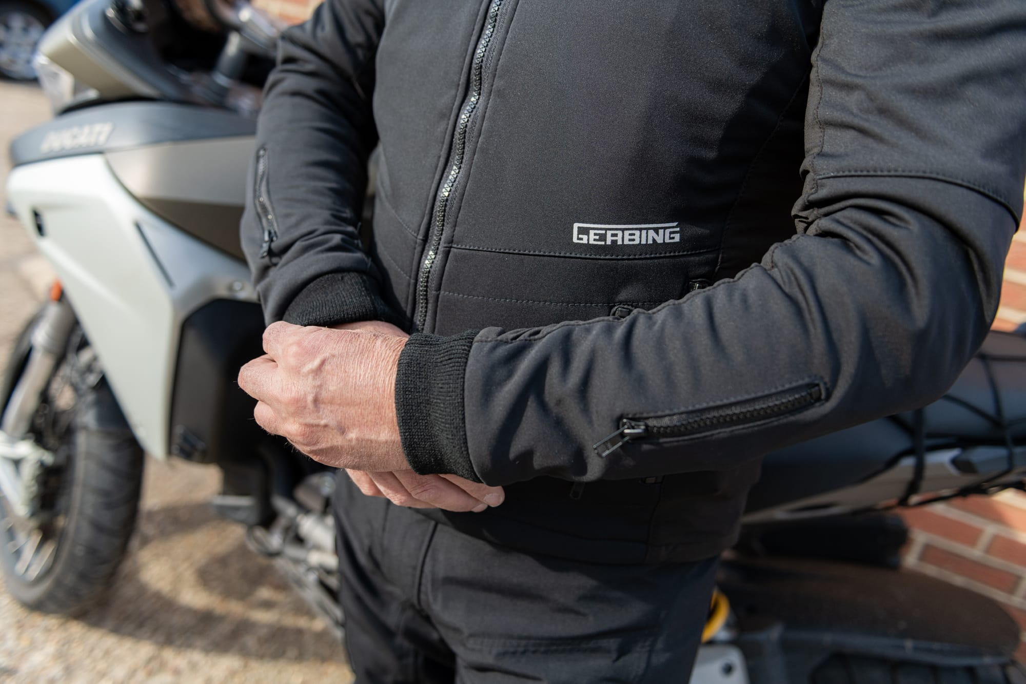 Heated Motorcycle Jacket Liner by Gerbing