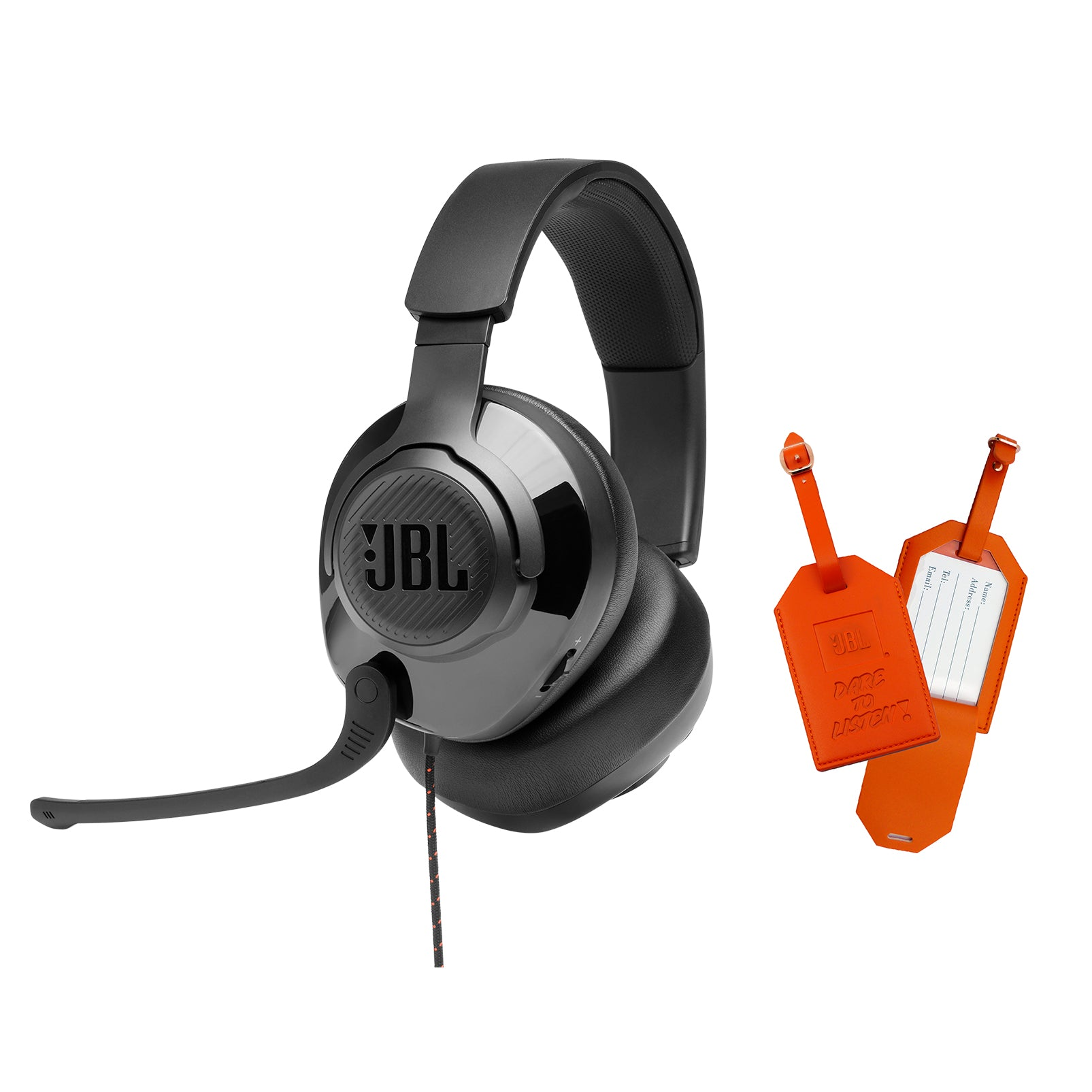 JBL Quantum 200 + JBL Luggage Tag