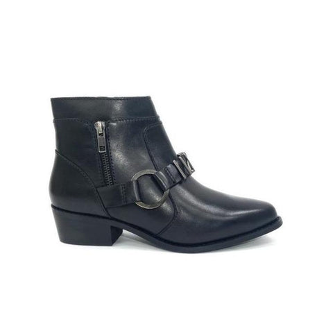 Pointed Toe Ankle boot black