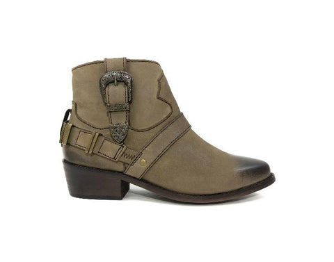 Pointed-toe Cowgirl Booties