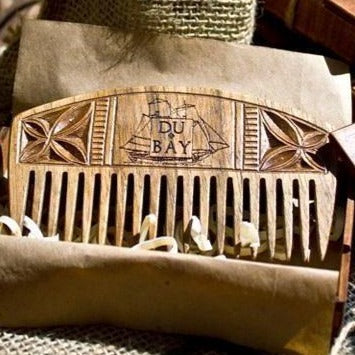 Hand Carved Basswood Beard Comb