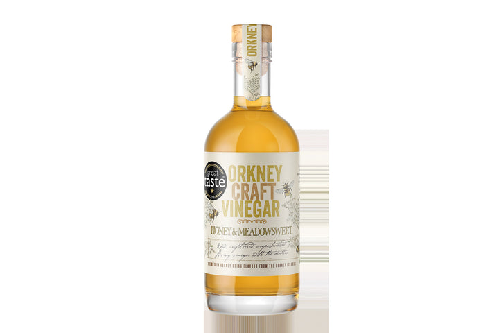 Handmade Honey & Meadowsweet Craft Vinegar from the Orkney Islands
