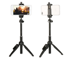 Load image into Gallery viewer, Extendable Selfie Stick Phone Tripod