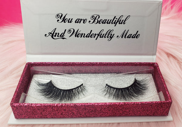 Amber mink lash from princess lash, llc.