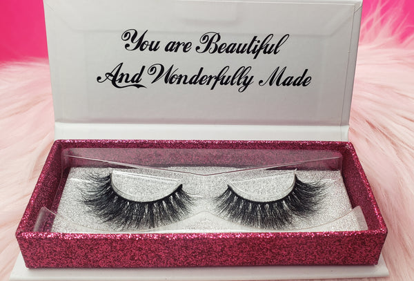 Anna mink lashes from princess lash, llc.