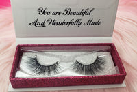 Ariel mink lashes from princess lash, llc.
