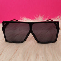 Oversized Black Shades