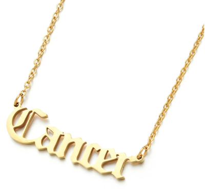 Gold Plated Zodiac Necklaces