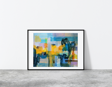 "Load image into Gallery viewer, ""Abstract Cityscape"" by Anja Stemmer"