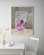 "Load image into Gallery viewer, ""A Preserved Memory/Shoe"" by Michelle Schwarzkopf"