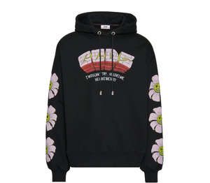 Sweatshirt with Bad Flower print