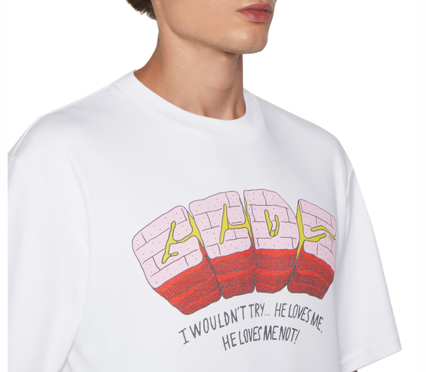 T-shirt with Bad Flower print