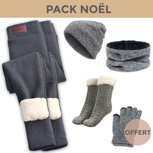 Charger l'image dans la galerie, PACK COCOONING - 2 Leggings + Pack Winter + Chausson