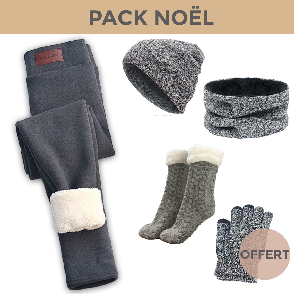 PACK PLAISIR - Legging + Pack Winter + Chausson