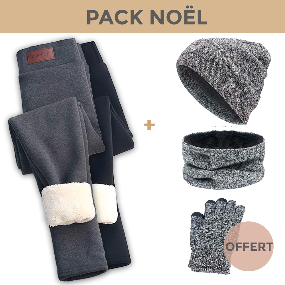 PACK CONFORT + - 2 Leggings + Pack Winter