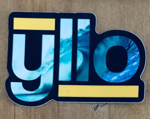 Yllo Surf Sticker