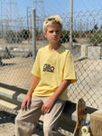 Yllo Short Sleeve Yellow Kick Flip T-Shirt