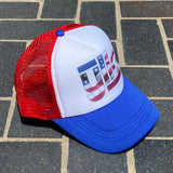 Yllo Trucker Hat - American Flag