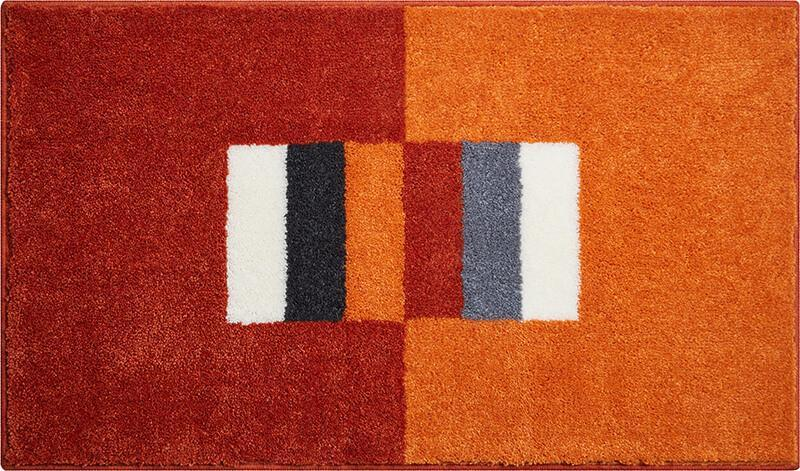 CAPRICIO Badematte, Orange | Grund.de