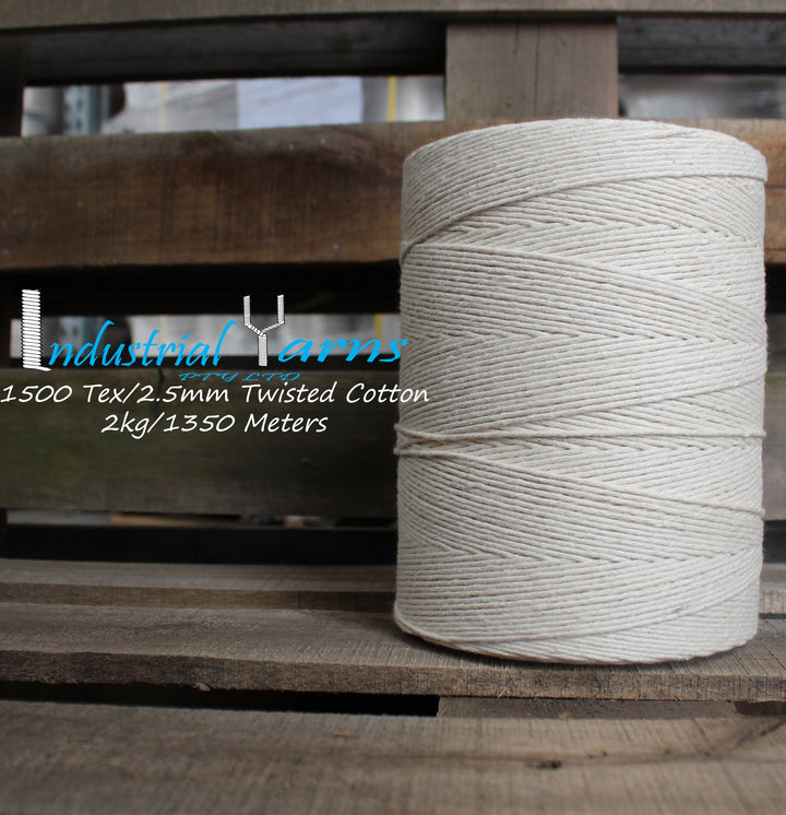 2.5mm Twisted Cotton