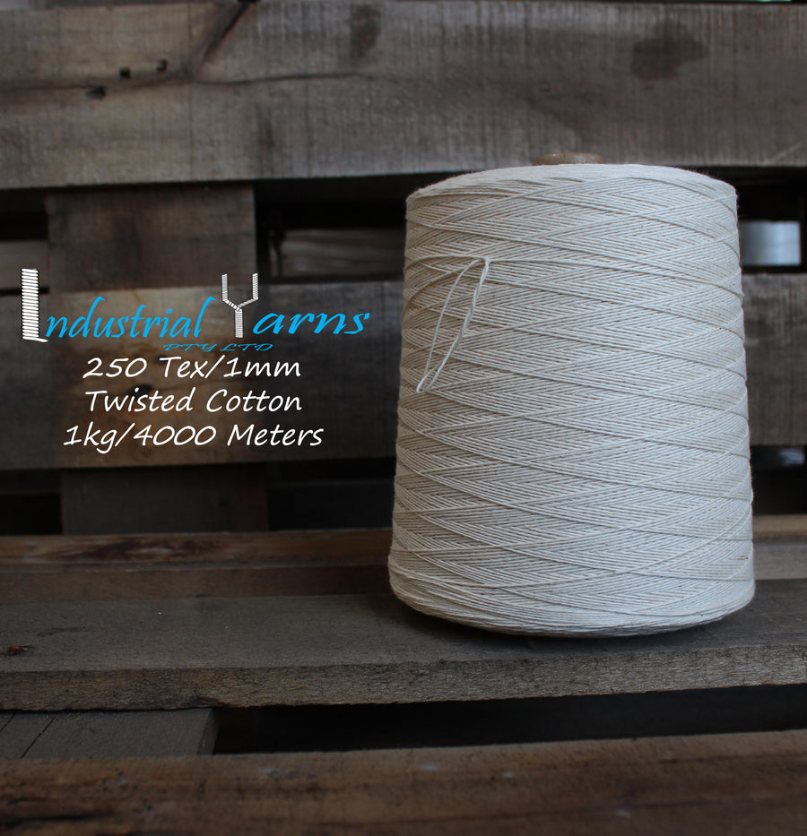 1mm Twisted Natural Cotton