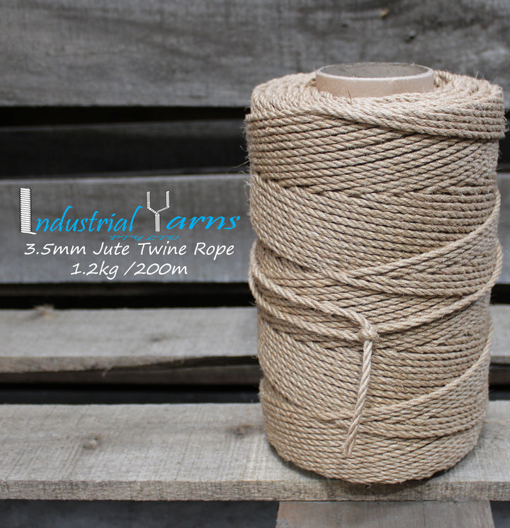 3.5mm Twisted Jute Twine Rope