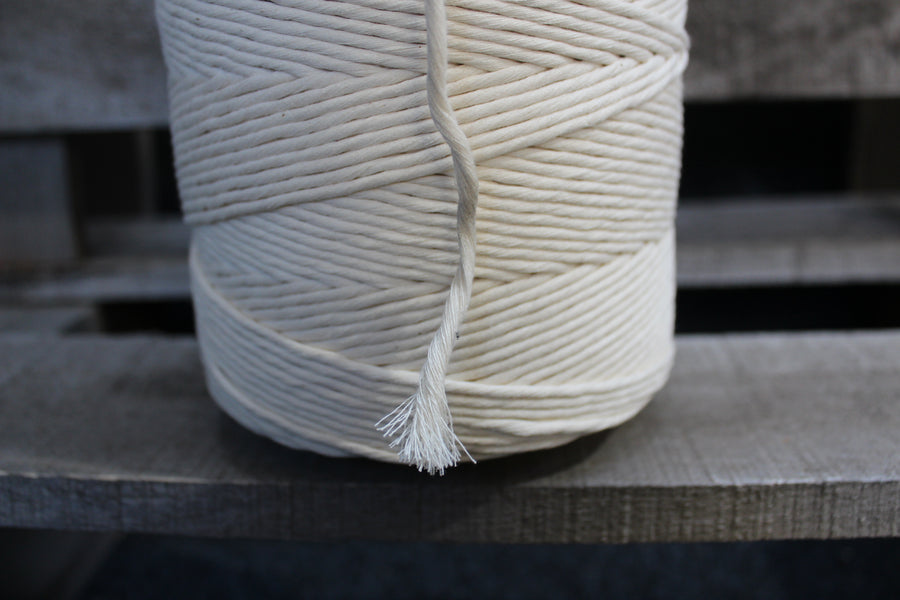 Organic 3mm Cotton String 1kg