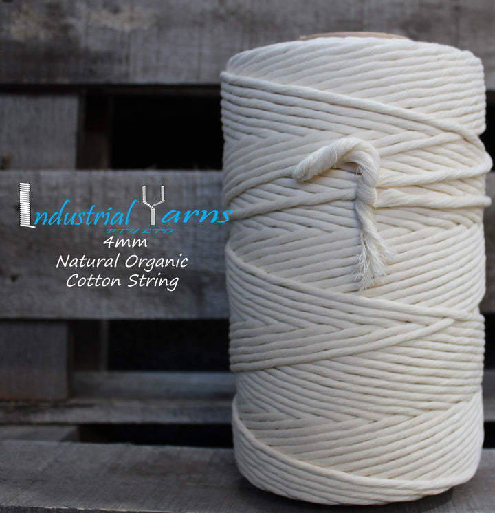 Organic 4mm Cotton String 1kg