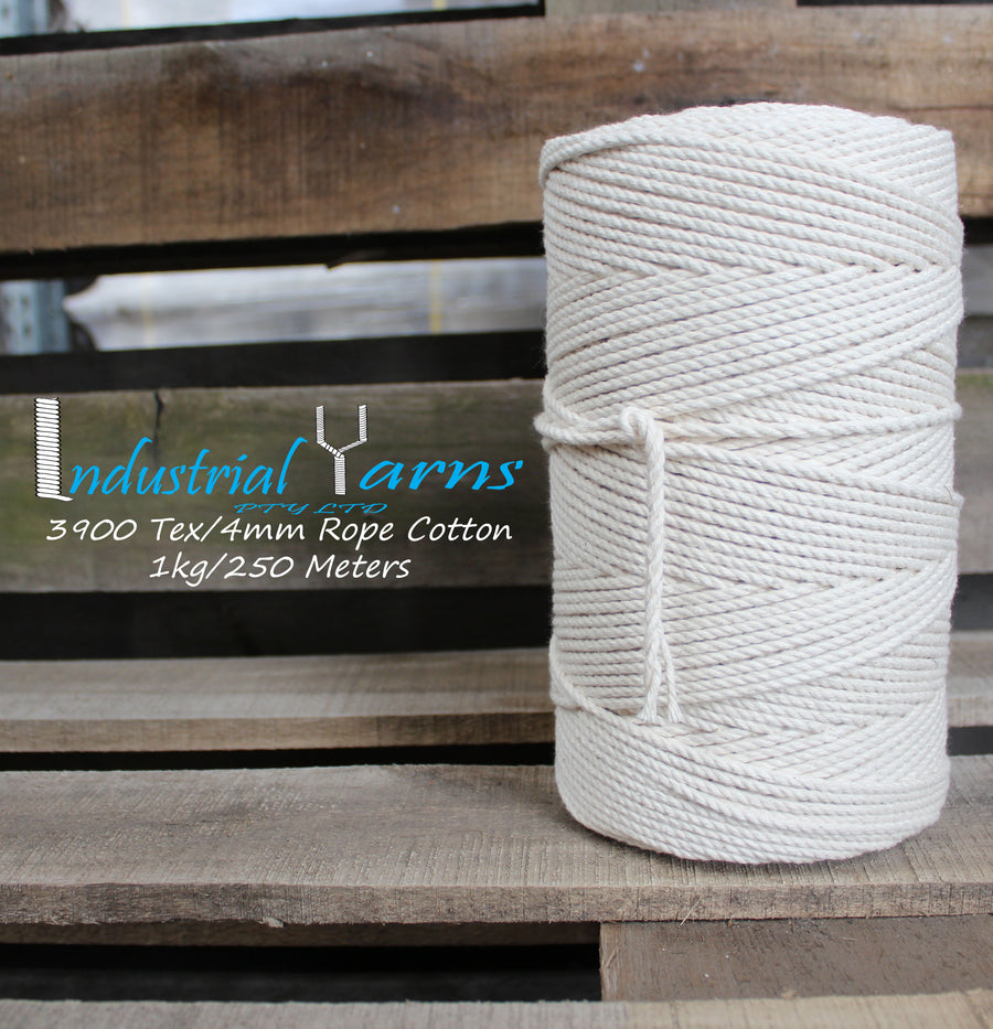 4mm Twisted Rope 1 kg