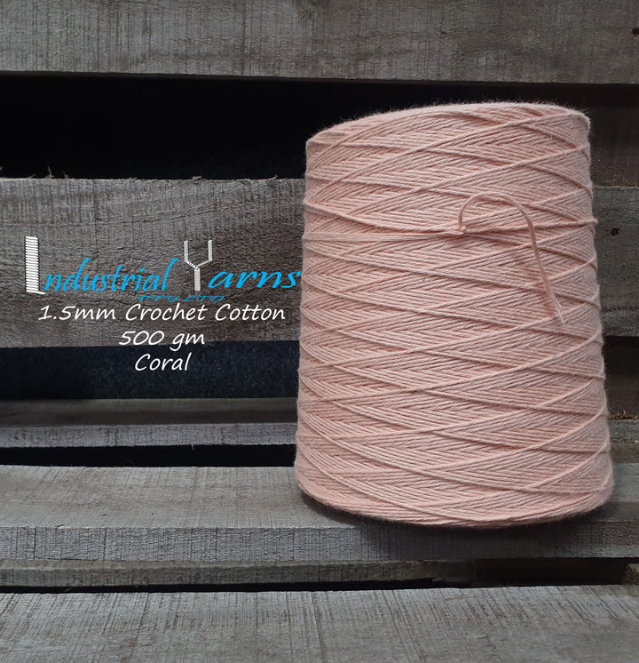 1.5mm Twisted Cotton Coral