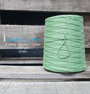 1.5mm Twisted Cotton Green