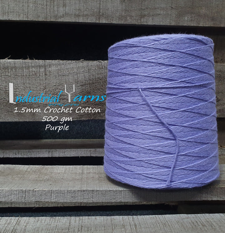 1.5mm Twisted Cotton Purple