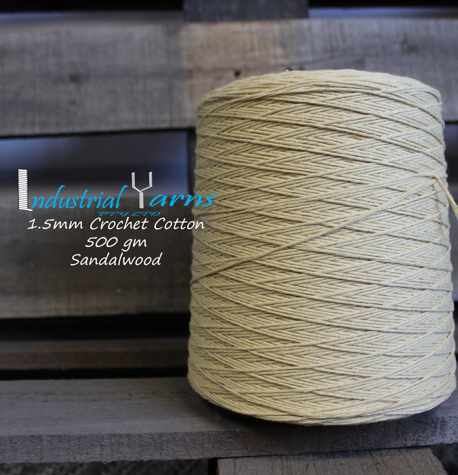 1.5mm Twisted Cotton Sandalwood