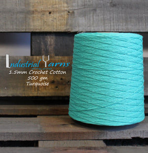 1.5mm Twisted Cotton Turquoise