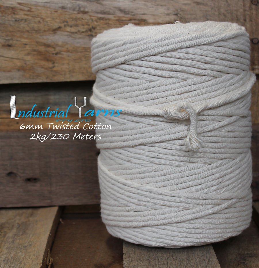 6mm Cotton 2kg