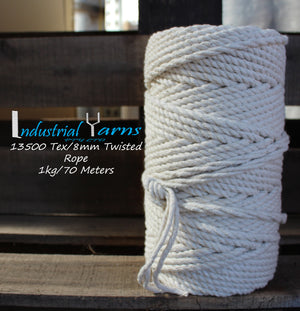 8mm Twisted Rope 1kg