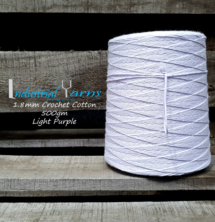 1.8mm Twisted Cotton Light Purple