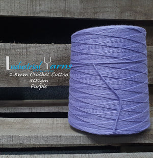 1.8mm Twisted Cotton Purple