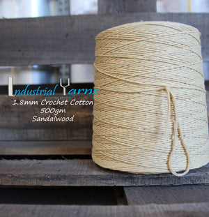 1.8mm Twisted Cotton Sandalwood