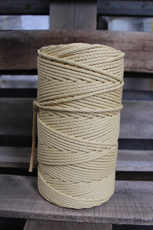 4.5mm Twisted Rope Sandalwood