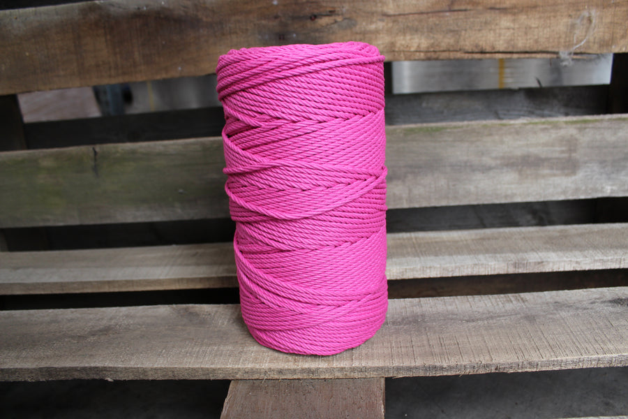 4.5mm Twisted Rope Magenta