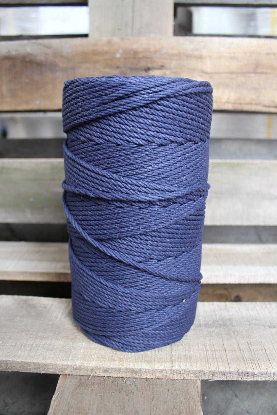 4.5mm Twisted Rope Navy